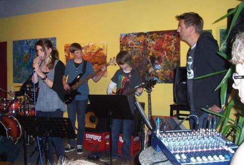 Kick im KiK – die Musikfabrik jammt<br/>Mi 20. Nov. 2019 – 19.30 Uhr